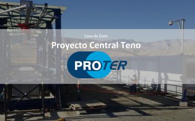 Proter  Control de proyectos Estructural Proyecto Central Teno