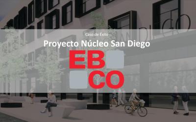 Constructora EBCO Coordinación BIM – VDC  Control obra gruesa  Proyecto Núcleo San Diego 34.000m2